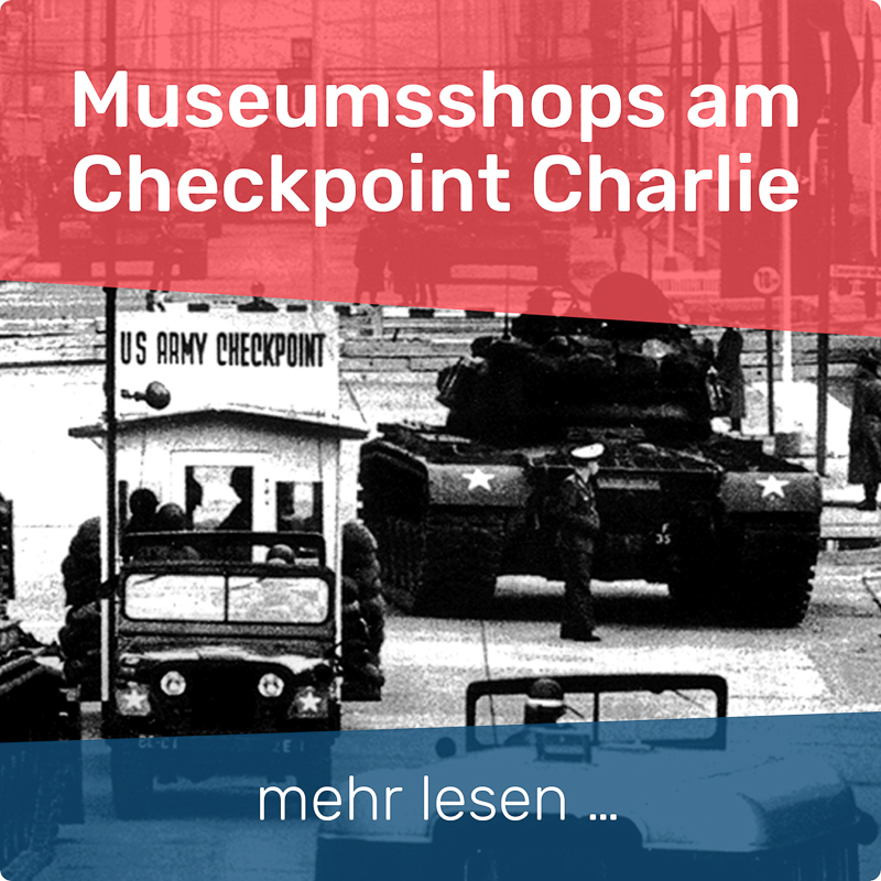 Museumsshops am Checkpoint Charlie